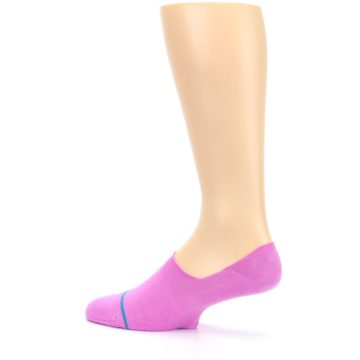 Image of Pink Gamut Men's No Show Liner Socks (side-2-13)