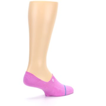 Image of Pink Gamut Men's No Show Liner Socks (side-1-back-22)