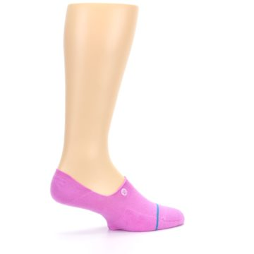 Image of Pink Gamut Men's No Show Liner Socks (side-1-23)