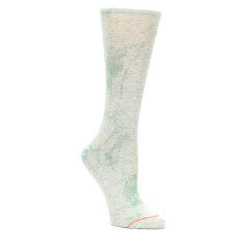 Mint-Green-Tie-Dye-Womens-Casual-Sock-STANCE