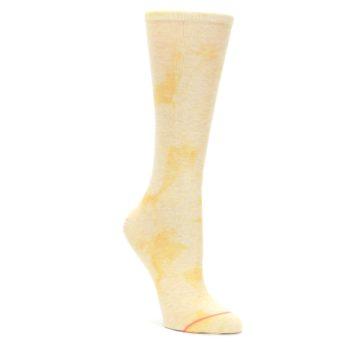 Yellow-Tie-Dye-Womens-Casual-Sock-STANCE