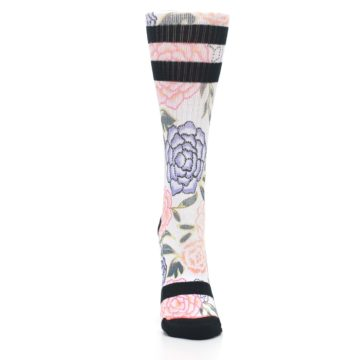 Image of Lilac Ice Posie Floral Women's Casual Sock (front-04)