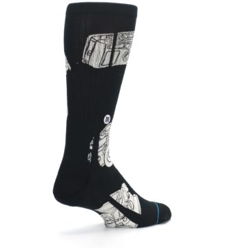 Image of Black White Cameras Men's Casual Socks (side-1-back-22)
