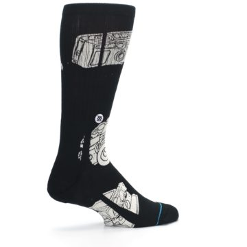Image of Black White Cameras Men's Casual Socks (side-1-23)