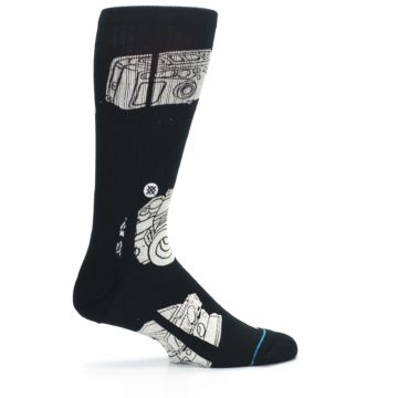 Image of Black White Cameras Men's Casual Socks (side-1-24)