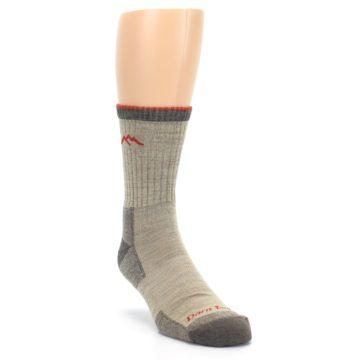 Image of Oatmeal Men's Hiking Socks (side-1-front-02)