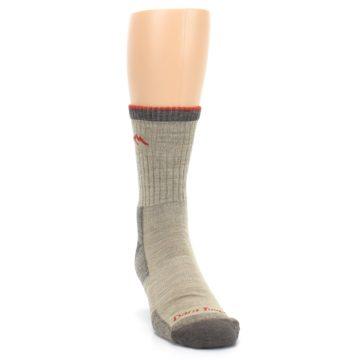 Image of Oatmeal Men's Hiking Socks (side-1-front-03)