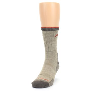 Image of Oatmeal Men's Hiking Socks (side-2-front-06)