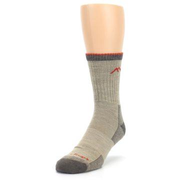 Image of Oatmeal Men's Hiking Socks (side-2-front-07)