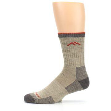 Image of Oatmeal Men's Hiking Socks (side-2-11)