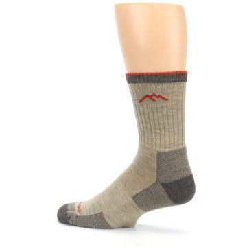 Image of Oatmeal Men's Hiking Socks (side-2-13)