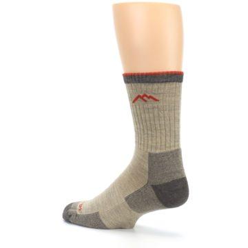 Image of Oatmeal Men's Hiking Socks (side-2-back-14)