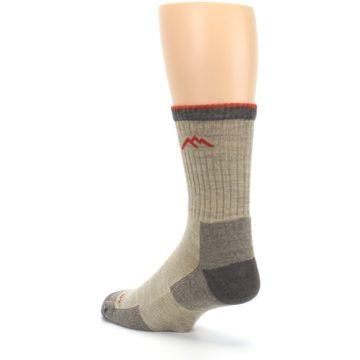 Image of Oatmeal Men's Hiking Socks (side-2-back-15)