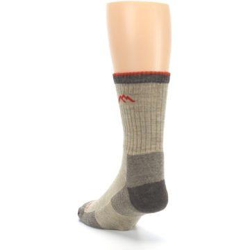 Image of Oatmeal Men's Hiking Socks (side-2-back-16)