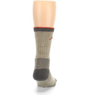 Image of Oatmeal Men's Hiking Socks (back-19)