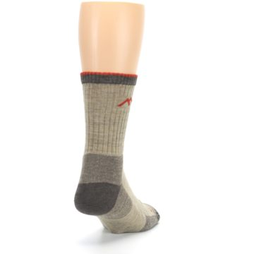Image of Oatmeal Men's Hiking Socks (side-1-back-20)