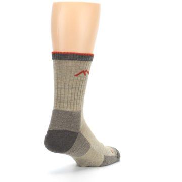 Image of Oatmeal Men's Hiking Socks (side-1-back-21)
