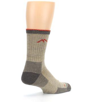 Image of Oatmeal Men's Hiking Socks (side-1-back-22)