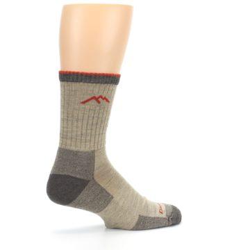 Image of Oatmeal Men's Hiking Socks (side-1-23)