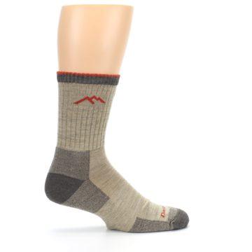 Image of Oatmeal Men's Hiking Socks (side-1-24)