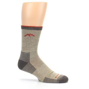 Image of Oatmeal Men's Hiking Socks (side-1-25)