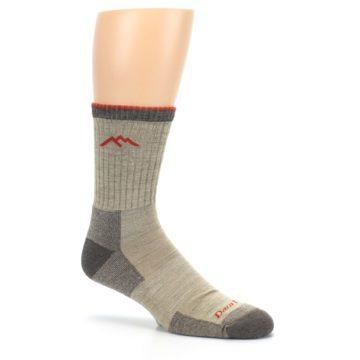 Image of Oatmeal Men's Hiking Socks (side-1-26)