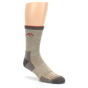 Image of Oatmeal Men's Hiking Socks (side-1-27)