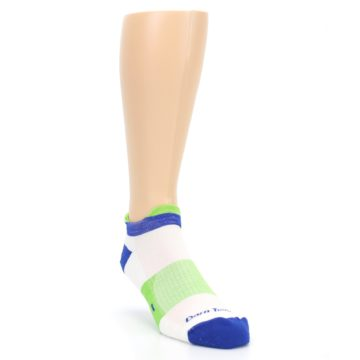 Image of White Lime Men's Endurance Ankle Socks (side-1-front-02)