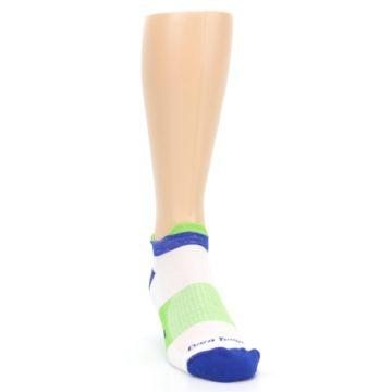 Image of White Lime Men's Endurance Ankle Socks (side-1-front-03)