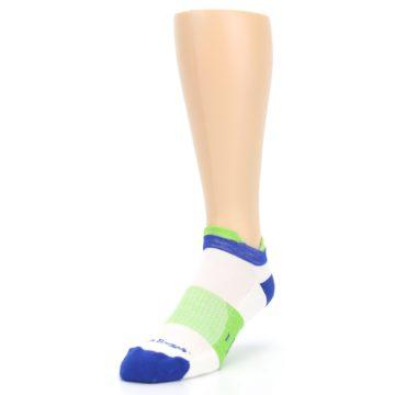 Image of White Lime Men's Endurance Ankle Socks (side-2-front-07)