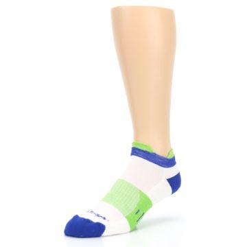 Image of White Lime Men's Endurance Ankle Socks (side-2-front-08)