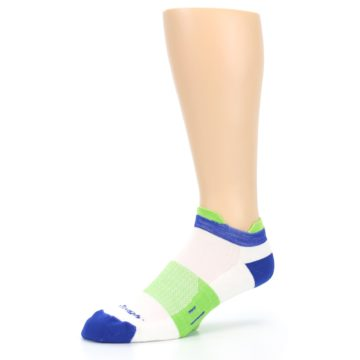 Image of White Lime Men's Endurance Ankle Socks (side-2-09)