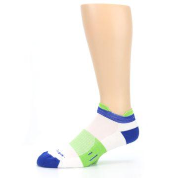 Image of White Lime Men's Endurance Ankle Socks (side-2-10)