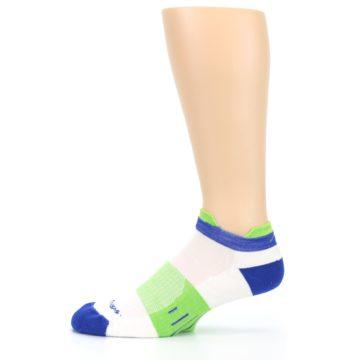 Image of White Lime Men's Endurance Ankle Socks (side-2-11)