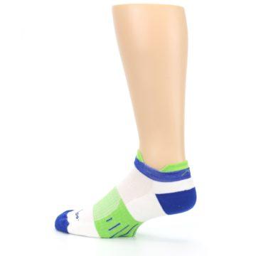 Image of White Lime Men's Endurance Ankle Socks (side-2-13)