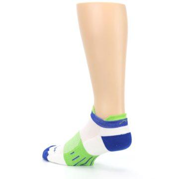 Image of White Lime Men's Endurance Ankle Socks (side-2-back-14)