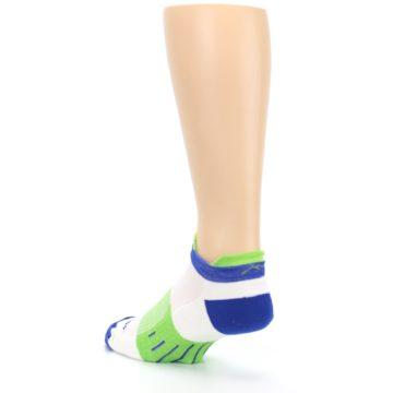 Image of White Lime Men's Endurance Ankle Socks (side-2-back-15)