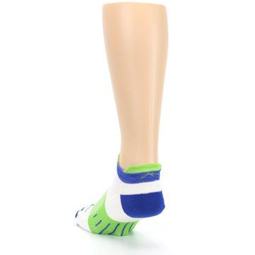 Image of White Lime Men's Endurance Ankle Socks (side-2-back-16)