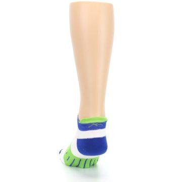 Image of White Lime Men's Endurance Ankle Socks (back-17)