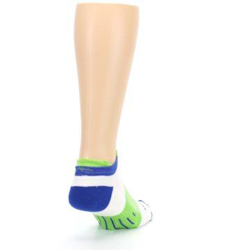 Image of White Lime Men's Endurance Ankle Socks (side-1-back-20)