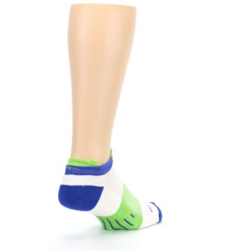 Image of White Lime Men's Endurance Ankle Socks (side-1-back-21)