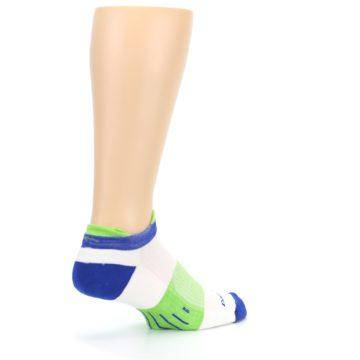 Image of White Lime Men's Endurance Ankle Socks (side-1-back-22)