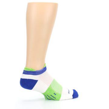 Image of White Lime Men's Endurance Ankle Socks (side-1-23)