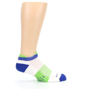 Image of White Lime Men's Endurance Ankle Socks (side-1-24)