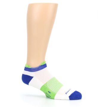 Image of White Lime Men's Endurance Ankle Socks (side-1-25)