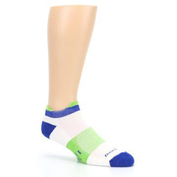 Image of White Lime Men's Endurance Ankle Socks (side-1-26)