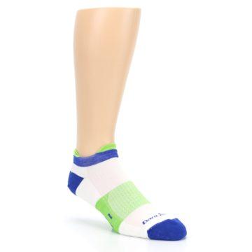 Image of White Lime Men's Endurance Ankle Socks (side-1-27)