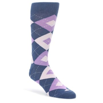 Bouquet-Navy-Argyle-Mens-Dress-Socks-Statement-Sockwear