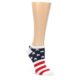 Image of Stars and Stripes Women's Ankle Sock 6 Pairs (side-2-front-06)