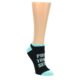 Image of Workout Motivation Women's Ankle Sock 6 Pairs (front-05)